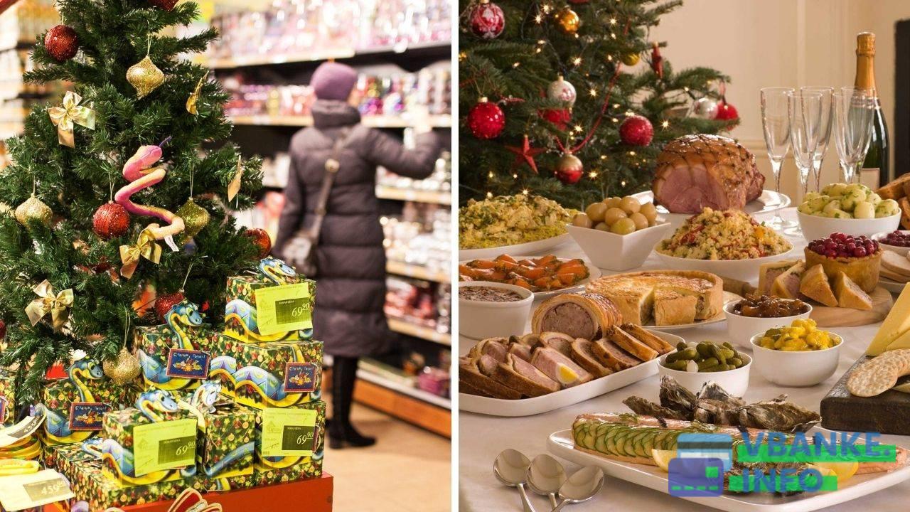 Рост цен на продукты перед Новым годом