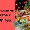Подорожание продуктов к Новому году