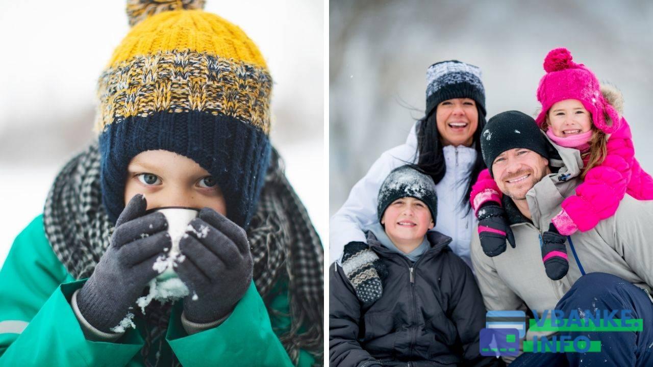 Когда будут зимние каникулы в школах в 2020 году