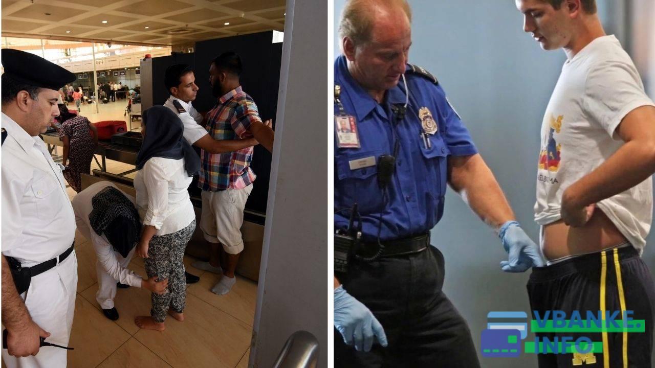 По отзывам некоторых туристов, обыски в египетских аэропортах слишком строгие